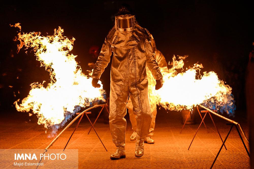 وقوع ۵۰ مورد آتش سوزی در نطنز