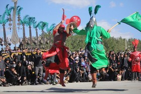 Ta'Ziyeh Khani ritual in Dehaghan