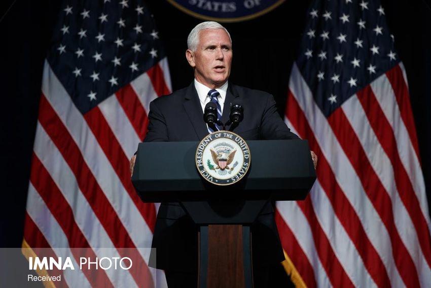 مایک پنس: نگران سلامت انتخابات هستم