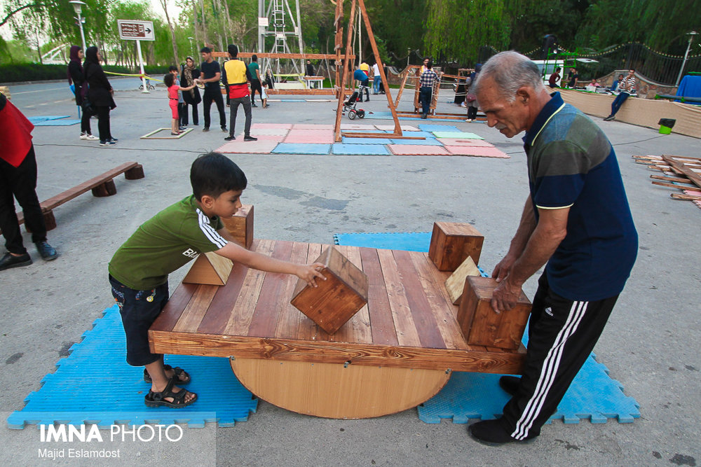Children's outdoor play spaces in Isfahan need to be developed