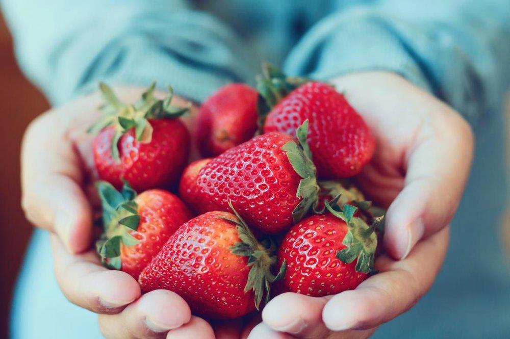 توت فرنگی، منبع تأمین پتاسیم و کلسیم بدن