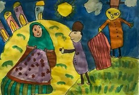 Isfahani children's paintings to exhibit in Shanghai Art Collections Museum