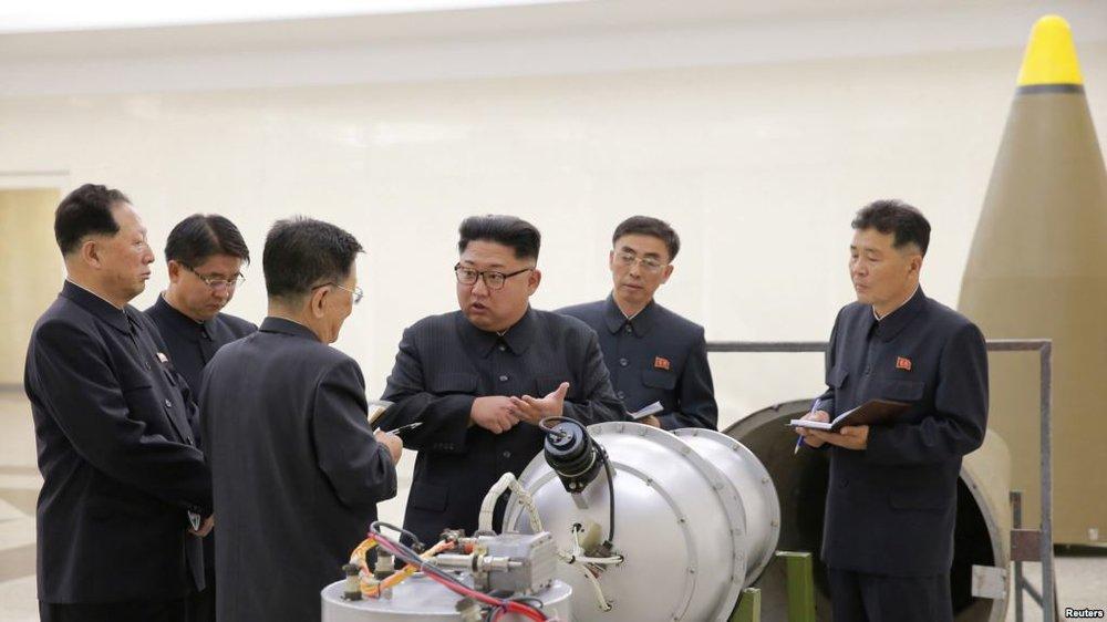 کرهشمالی«یک پرتابگر موشک چندگانه بسیار بزرگ» را آزمایش کرد