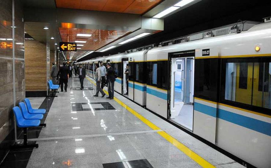 کشف ۵ کیلو حشیش در مترو تهران