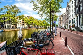 آمستردام؛ شهر تقاطعهای امن