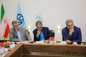نشست مشترک اداره کل میراث فرهنگی با شهرداری اصفهان