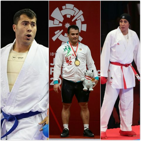 Two gold and one bronze medals in day 7 of Asian Games