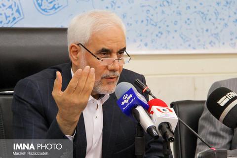 نشست خبری دکتر مهر علیزاده استاندار اصفهان