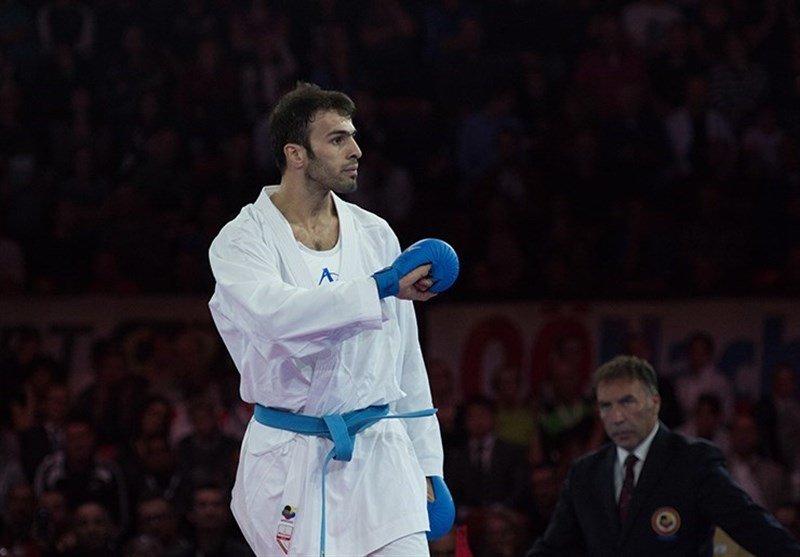 محرومیت یکساله بهمن عسگری به علت دوپینگ/ یک سهمیه کاراته در المپیک از دست رفت