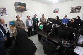 بازدید جمعی از فعالان رسانه ای از خبرگزاری ایمنا