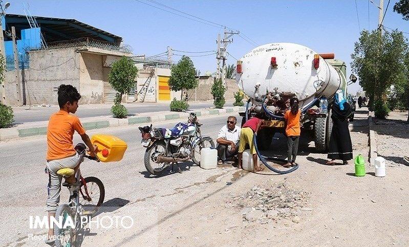 روستاهای خوزستان آب شرب ندارند