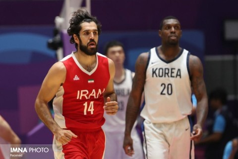 ایران ۷۰ عربستان ۶۴ / پیروزی بسکتبالیستهای ایران مقابل تیم عربستان در انتخابی جام آسیا