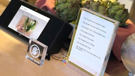 آشپزی آسان با نمایشگر هوشمند LG