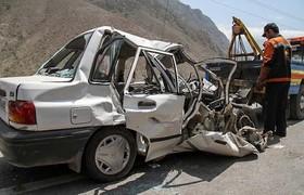 جاده خطرناک بادرود_ کاشان جان ۲ نفر را گرفت