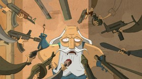 "Animation review: ""Run Rostam Run"""