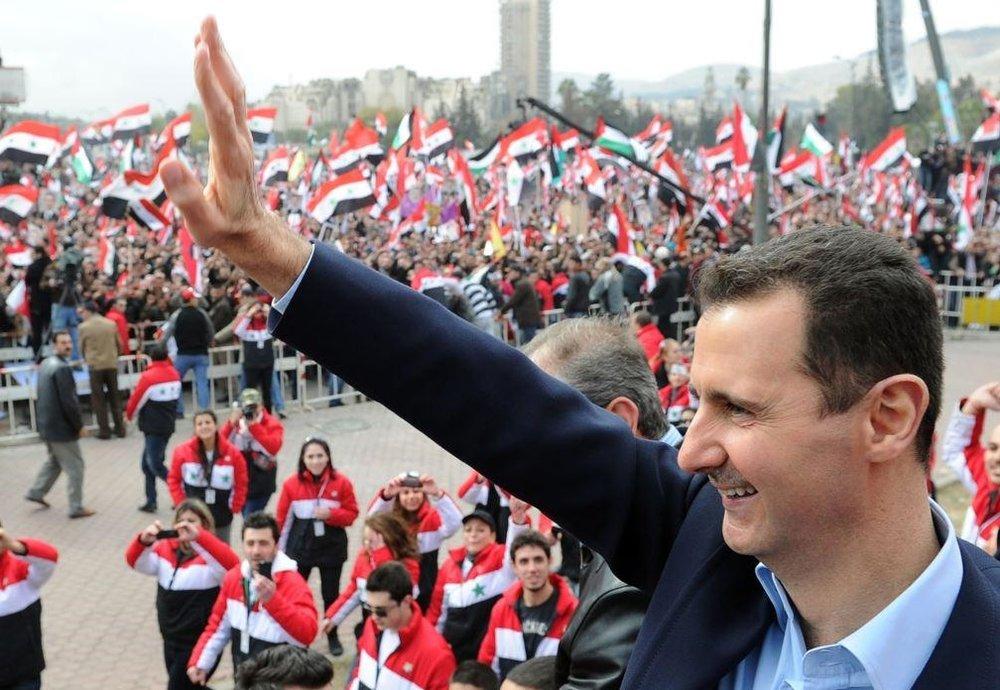 بشار اسد کمپین انتخاباتی خود را آغاز کرد