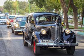 Classic Car Parade in Isfahan