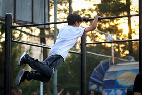 می خواهند ورزشکاران ژیمناستیک را از پارکور تامین کنند