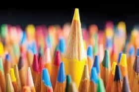 پویایی در نقاشی مدادرنگ
