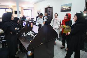 بازدید جمعی از انجمن خبرنگاران چین از ایمنا