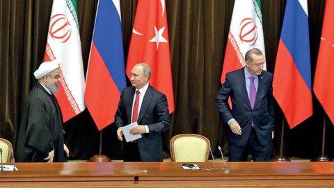 اجلاس فوقالعاده سران سه کشور ایران، روسیه و ترکیه فردا برگزار می شود