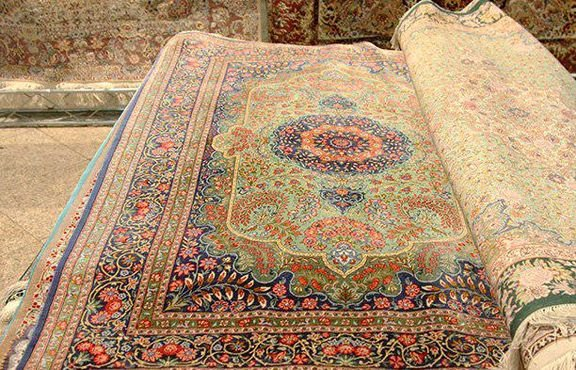 Beauty of Iranian carpet