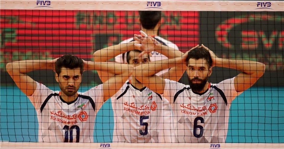 شروع مقتدرانه ایران در مسابقات جهانی والیبال