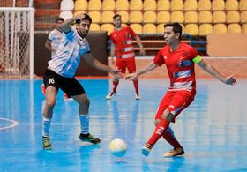 دیدار تیم های فوتسال گیتی پسند و ارژنگ شیراز
