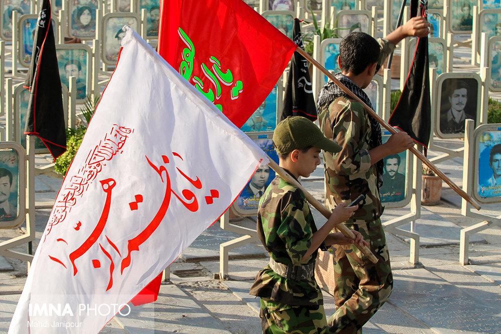 بسیج حضور آگاهانه ملت در تمام صحنههای انقلاب اسلامی است