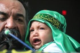 اشک ناز دانه ها در سوگ دردانه رباب