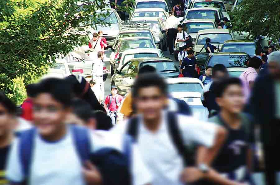 School traffic increased by 15% in Isfahan