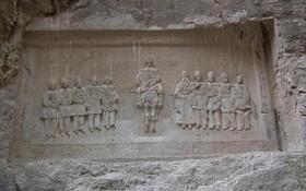 «شکل شاه» گمنام در محور هراز