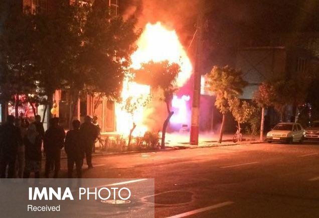مرگ زن ۵۰ ساله در آتشسوزی منزل مسکونی