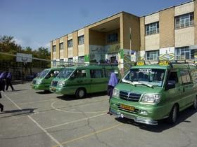 خدماترسانی ۹۰ اتوبوس به دانش آموزان مدارس استثنایی