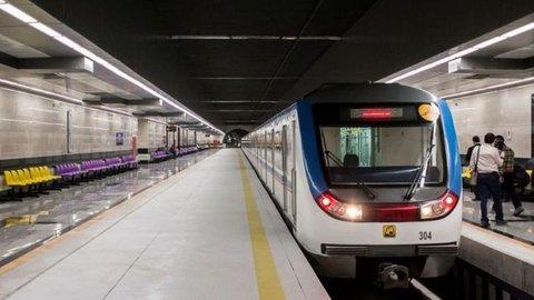 تهران؛ توقف مترو به دلیل رژه نیروهای مسلح