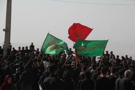 گردهمایی بزرگ تاسوعایی عزاداران حسینی در سمیرم