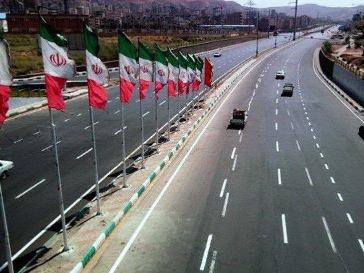 نصب گاردریل در بزرگراههای حادثهخیز مشهد