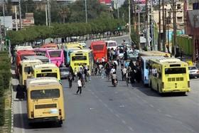 جزییات خدمات رسانی ناوگان اتوبوسرانی همدان در مهر ماه