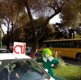 اجرای مانور «نه به خودرو تک سرنشین» در اصفهان