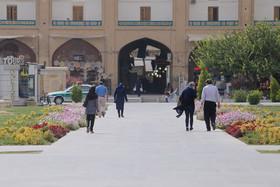 استمرار روند کاهش دما در اصفهان/ گرد و غبار تا پنجشنبه میماند