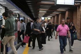رکورد استفاده از مترو در روز ۳۱ شهریور ماه شکسته شد