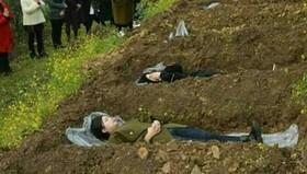 زنده ها را خاک می کنم