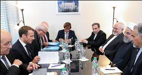 روسای جمهوری ایران و فرانسه بر ضرورت تقویت برجام تاکید کردند