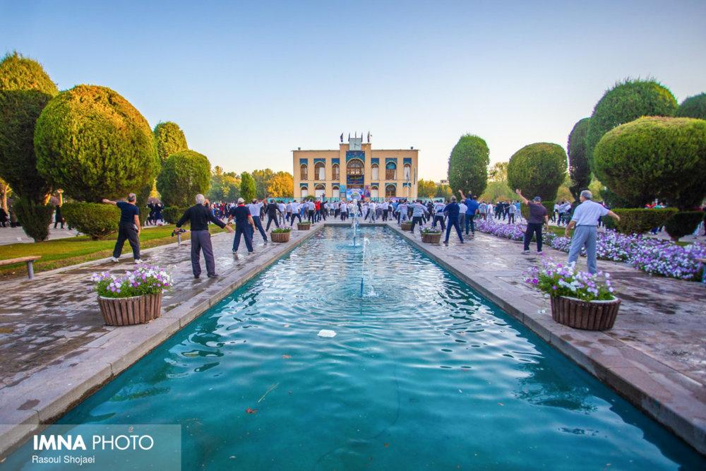 بهره برداری از سالن های بدنسازی مجموعه ورزشی غدیر شهرداری اصفهان