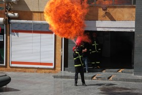 آتش نشانی، شغلی آمیزه از عشق و انجام وظیفه