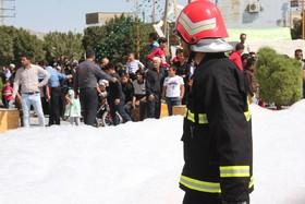 احداث آسایشگاه و تجهیز آتش نشانی با اعتباری بالغ بر ۵۰۰ میلیون ریال