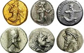 قیمت سکه های اشکانی از فریدن تا ترکیه