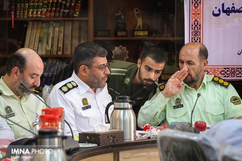 نشست خبری فرمانده نیروی انتظامی