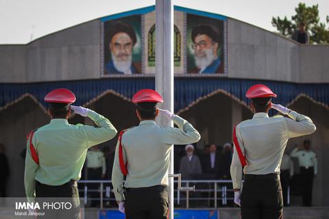 صبحگاه مشترک نيروی انتظامی اصفهان
