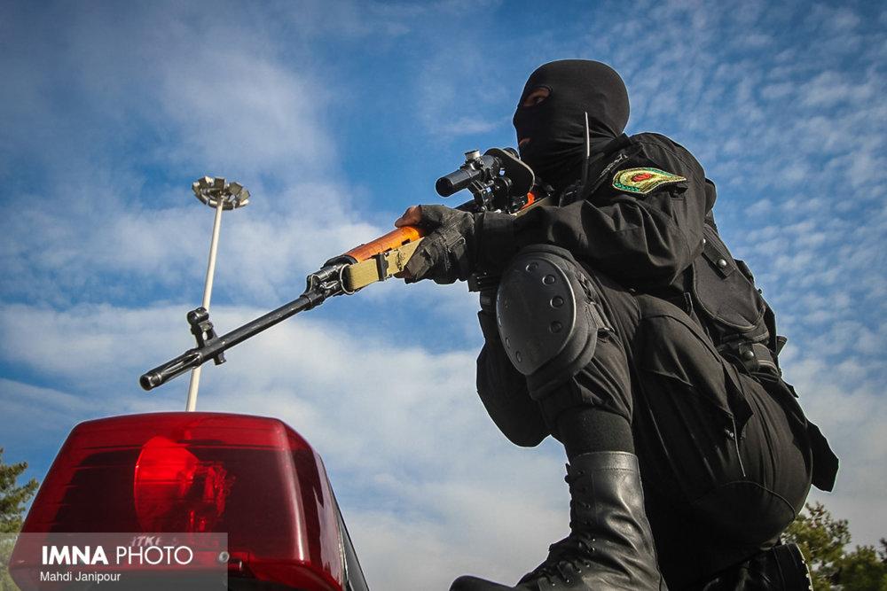 پایان زندگی شرور مسلح در کهنوج